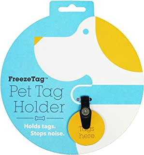 FreezeTag Dog Tag Silencer and Connector