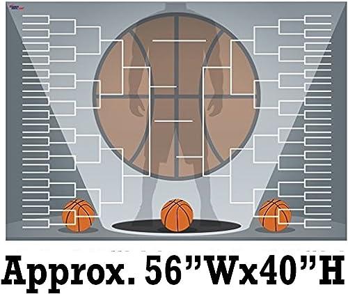 Giant Basketball Halterung Design 2 wellig Kunststoff 163,8  W x 116,8  H