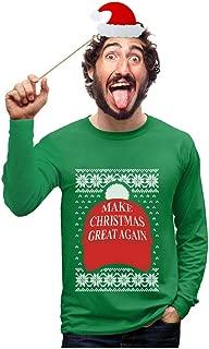 Donald Trump - Make Christmas Great Again Ugly Xmas Long Sleeve T-Shirt