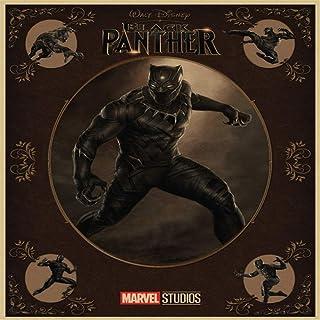 JXAA Película Black Panther Canvas Poster Pegatinas de Pared Decoración del hogar Sala de Estar Poster Wall Art Decoración del hogar Frameless-50x50cm