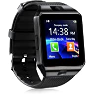 321OU Smart Watch Bluetooth Smart Watch Fitness Tracker Touchscreen iOS Android Compatible with...