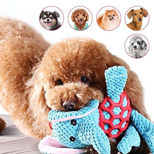 「All4pets」中小型犬用おもちゃ 丈夫なぬいぐるみ 歯磨き清潔 音の出るペットおもちゃ