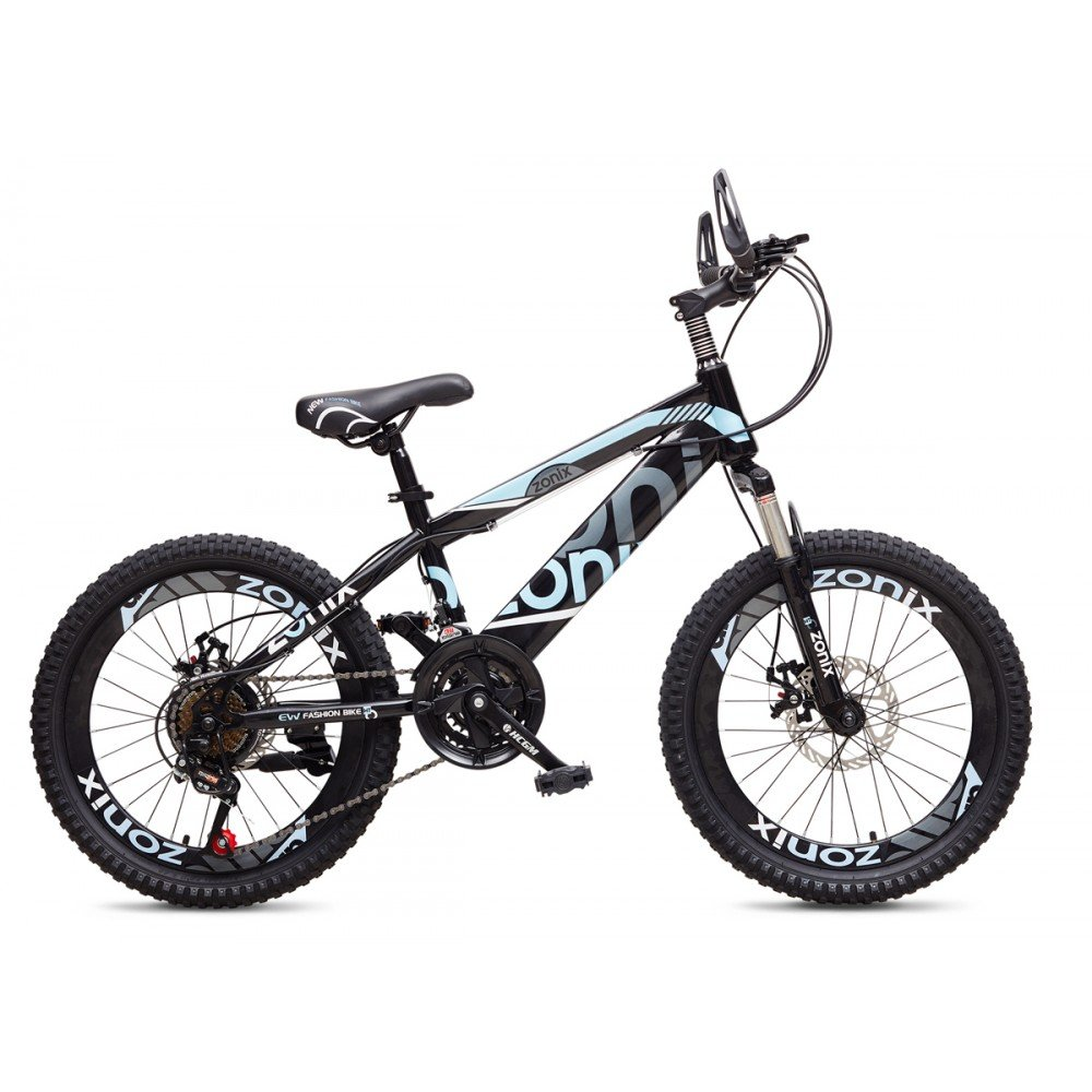 Zonix New Fashion Bicicleta Niños Niñas MTB 20 Pulgadas 21 ...