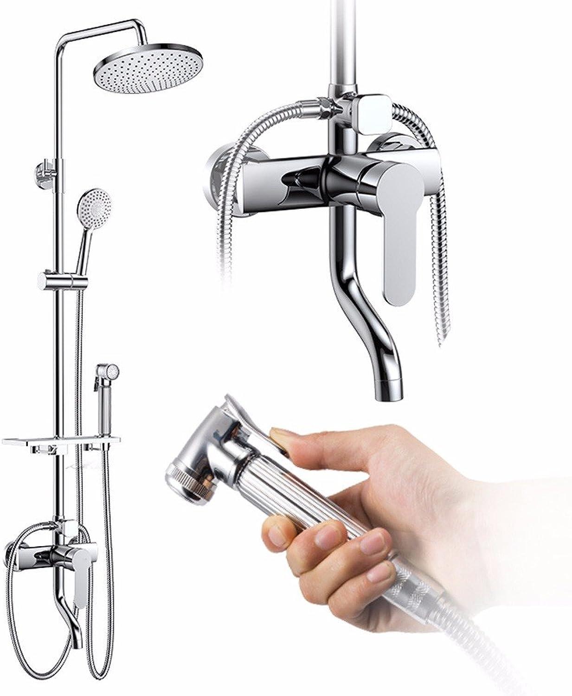 Lvsede Bad Wasserhahn Design Küchenarmatur Niederdruck Volle Kupferne Hahndusche-Badezimmerdusche L4765