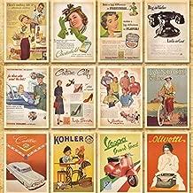 Cards & Invitations - 32pcs Lot Retro Cartoon Post Card Vintage Architecture Poster Classic Movie World War Ii Theme - Year Rack Real Romantic Cardstock Nurse Estate Inkjet Home Hang Leaving Happ