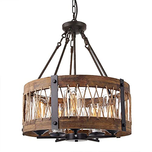 Rustic Ceiling Light Amazon Com