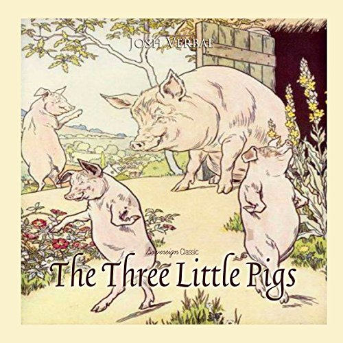 The Three Little Pigs audiobook cover art