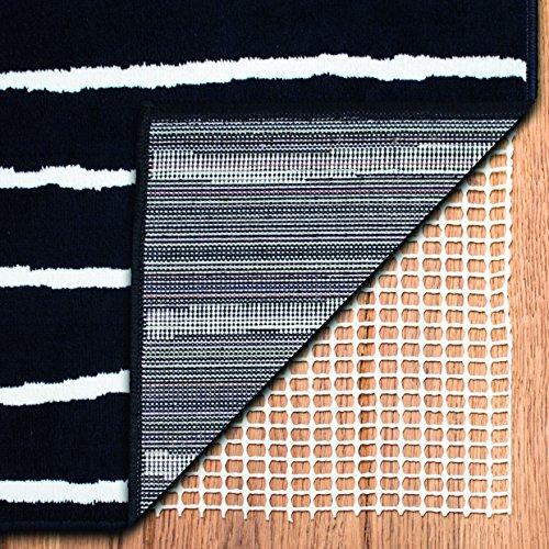 sinnlein® Antirutschmatte Teppichunterlage | Teppichstopper | Teppichunterleger zuschneidbar, rutschfest und für Fußbodenheizung geeignet (180 x 300 cm)