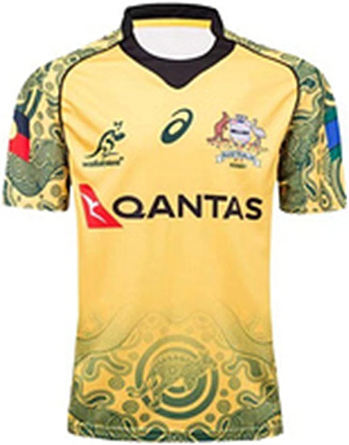 DUOLANG Cotton Fashion AUSTRALIAN SEVENS RUGBY JERSEY