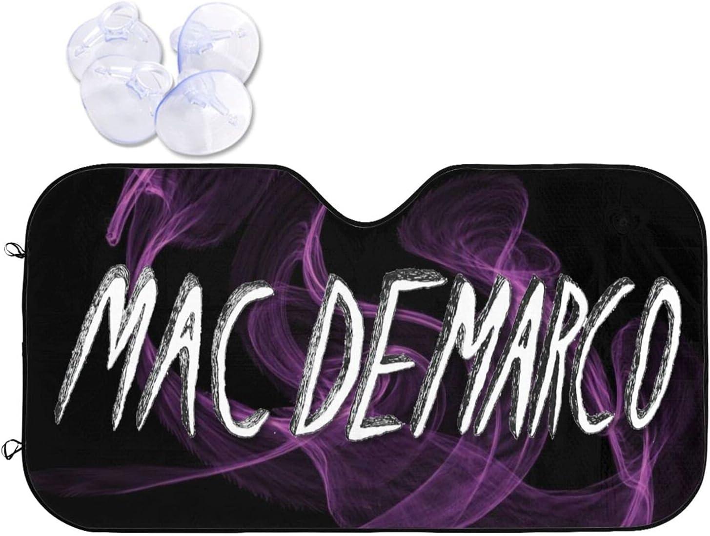 Mac Demarco Car Sunshade Heat Prevention and Windshield Sun Portland Mall Viso In stock