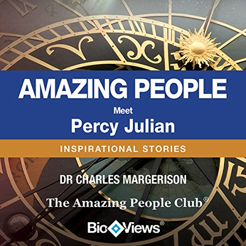 Meet Percy Julian audiobook cover art