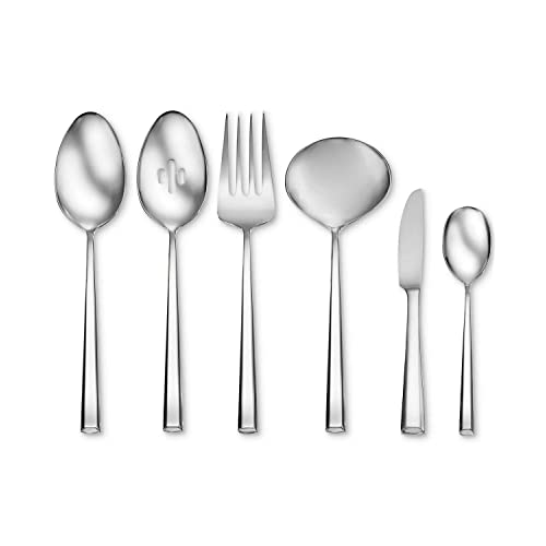 Oneida Pearce 6 Piece Serving Set 18/10 Stainless Steel