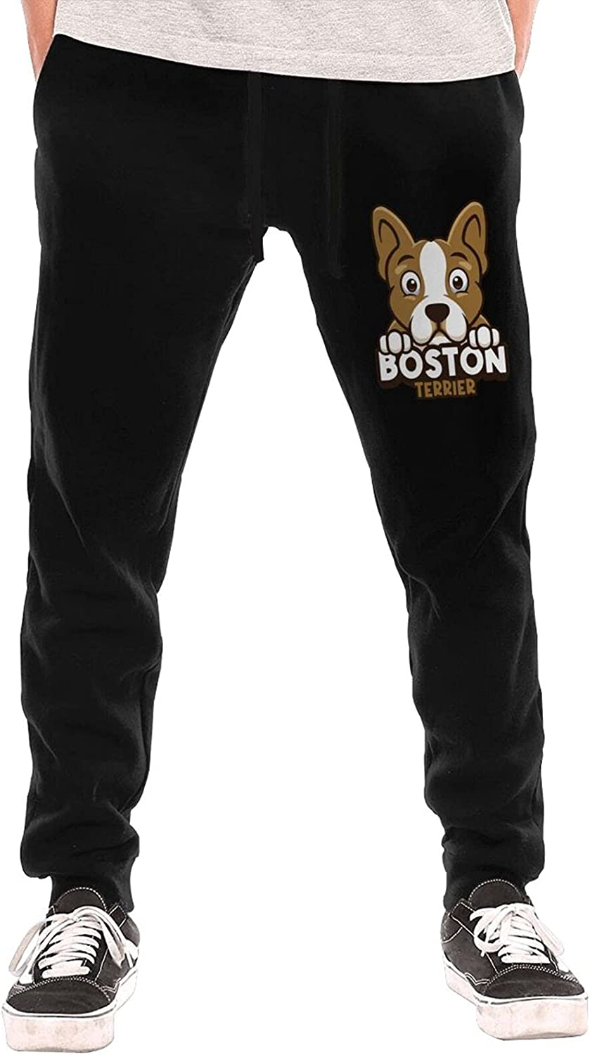 Constantyou Boston 2021 spring and summer new Mall Terrier Sweatpants Gym Men Swe for