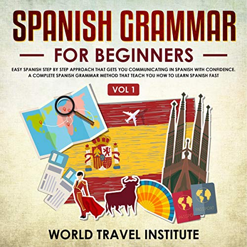 Couverture de Spanish Grammar for Beginners