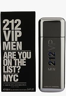 Carolina Herrera 212 Vip Eau De Toilette Spray for Men, 3.4 Ounce (Packaging may vary)