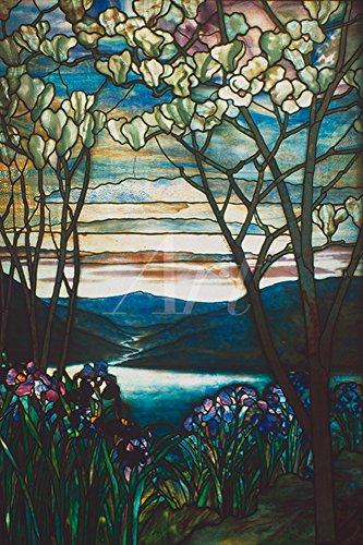 Artland Alte Meister selbstklebendes Premium Wandbild Louis Comfort Tiffany Bilder 30 x 20 cm...