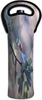 Wine Bag Cute Ladybug Raindrop 1 Beer Bottle Red Wine Tote Bag Protective Single Champagne Gift Carrier Holder Bag