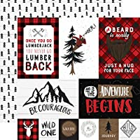 """Let's Lumberjack Double-Sided Cardstock 12""""X12""""-Multi Journaling Cards"""