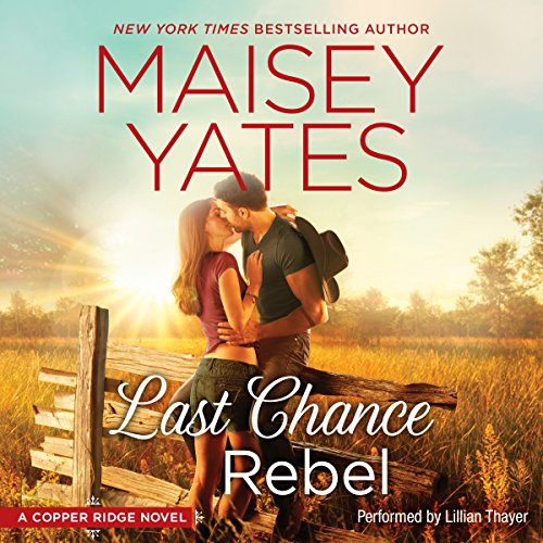 Last Chance Rebel audiobook cover art