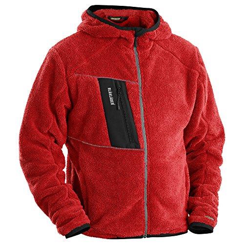 Blåkläder 48632502 Faser-Vlies-Jacke, Rot, L