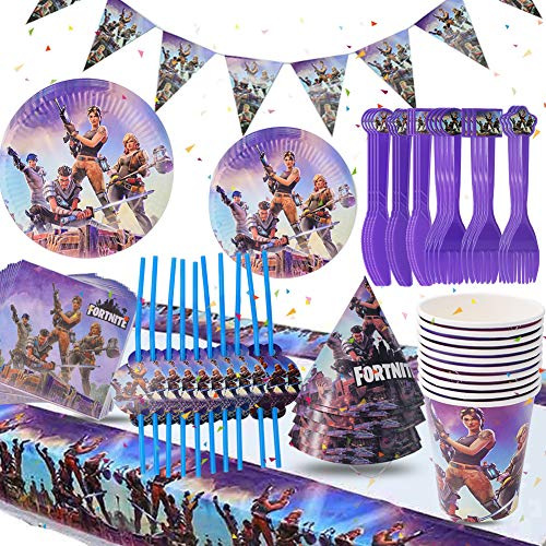 Game Party Supplies Party Tablew...
