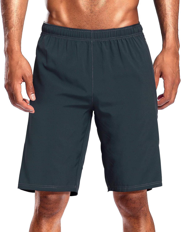 CAMEL CROWN Pantalones Cortos de Deporte Hombre Secado R/ápido Verano Running Pantal/ón Shorts Transpirables Ligeros con Bolsillos para Correr Baloncesto Tenis Fitness Gym Training Jogging Marathon
