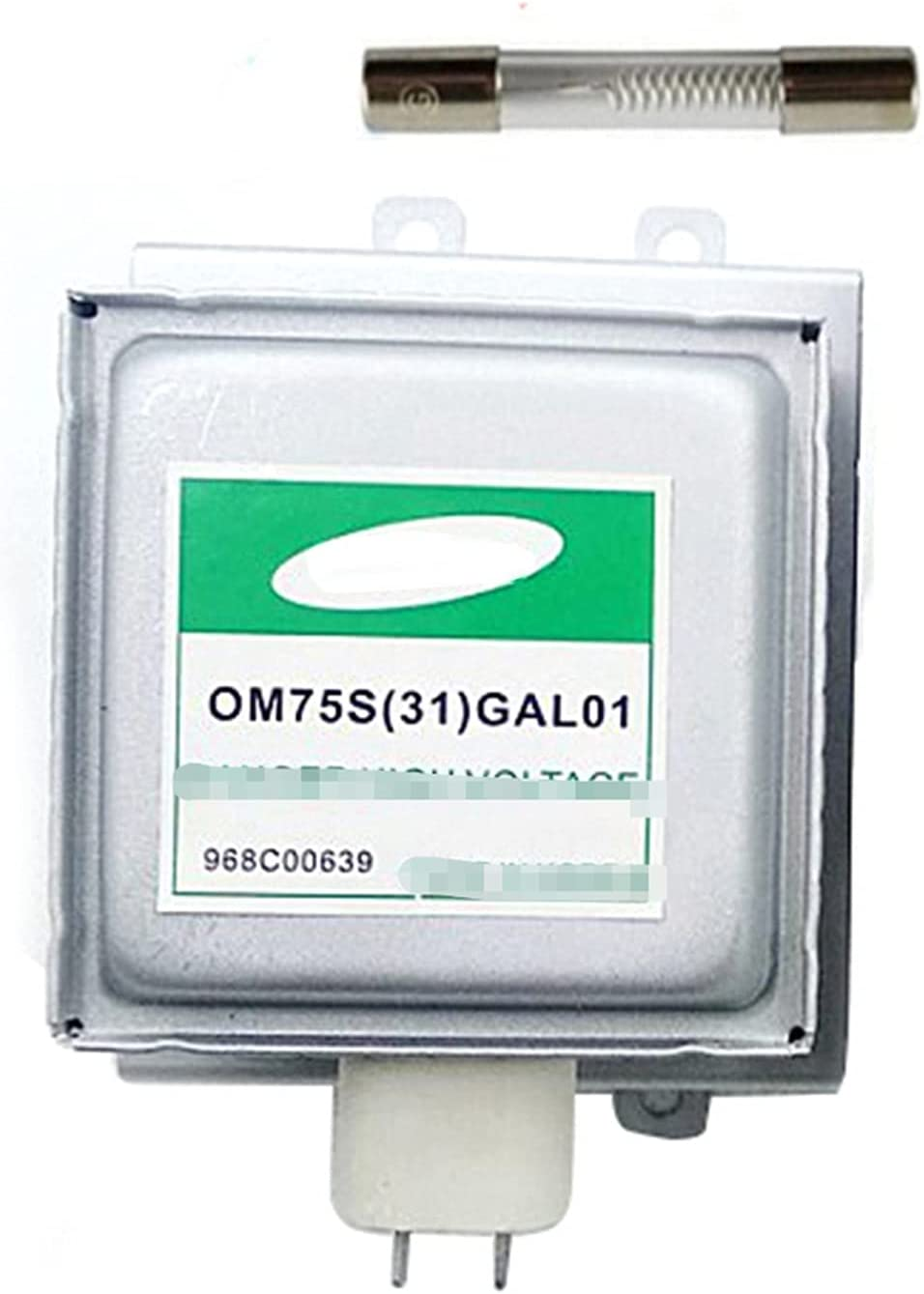 ZYTANG® Horno de microondas para Magnetrón Samsung OM75S (31) GAL01 Piezas reformadas Magnetron sin fusibles de Alto Voltaje Piezas de Horno de microondas