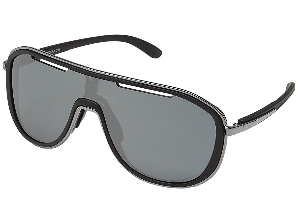 Oakley Outpace (Soft Touch Black/Black Ice w/ Prizm Black) Sport Sunglasses