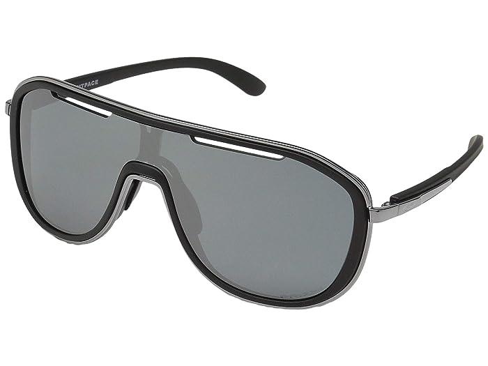 Oakley Outpace (Soft Touch Black/Black Ice w/ Prizm Black) Sport Sunglasses