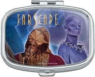 Farscape Crew Zhaan and Ka D'Argo Aliens Rectangle Pill Case Trinket Gift Box