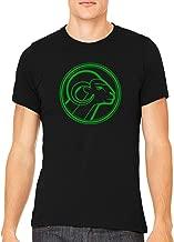 Green Aries Star Sign Unisex Premium Crewneck Printed T-Shirt Tee