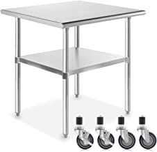 Best 18 x 36 stainless steel table Reviews