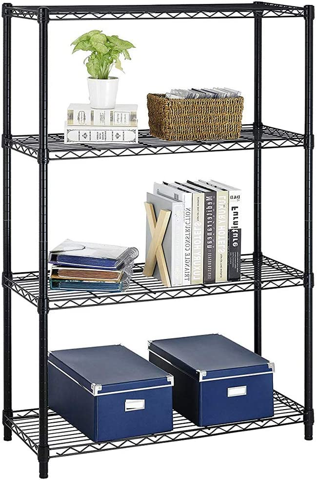 Wire Shelving New Fees free!! Orleans Mall Unit Heavy Duty Height Certificatio Adjustable NSF