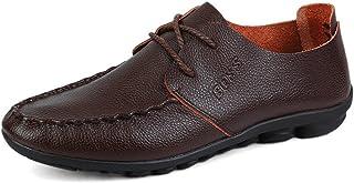 [QIFENGDIANZI] 靴 メンズ ドライビングシューズ カジュアルシューズ ローファー スリッポン モカシン デッキシューズ ビジネスシューズ お洒落 身長アップ 軽量 通気性 アウトドア ローカット 通勤 通学 黒 イエロー ブラウン