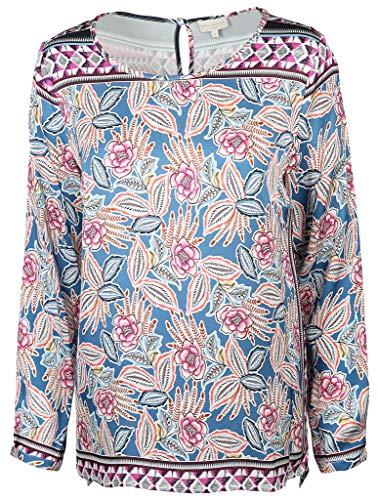 Milano Italy Damen Bluse Größe 42 EU Mehrfarbig (bunt)
