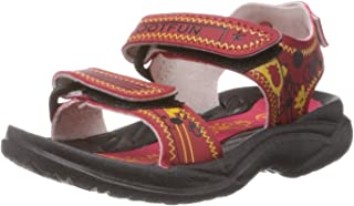 Foot Fun (from Liberty) Unisex Jimmy-05 Red Sandals and Floaters