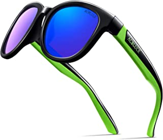 ACBLUCE Kids Polarized Sports Sunglasses TPEE Frame with...