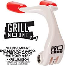 Pro Standard Grill Mount 2.0 - The Best Mouth Mount for GoPro Cameras