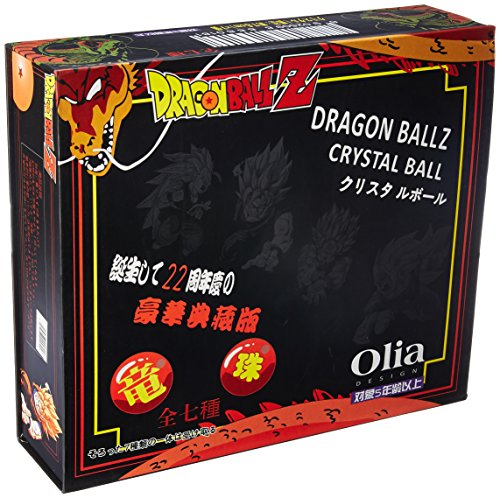 OLIA DESIGN Generic Moddan Large 75mm Acrylic Star Anime Balls Cosplay - 7 Pieces with Gift Box,,