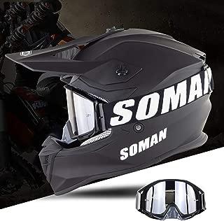 Aks Yue Unisex DOT Safety Certification Level Helmet, Anti-Collision Helmet, Downhill Pedal Helmet, Removable Lining (S55-XXL64) cm
