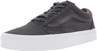 e9fc2589fb5 Vans Off The Wall Old Skool Mono Canvas Sneakers (Asphalt) Skateboarding  Shoes