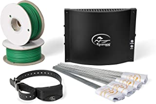 Best SportDOG Brand In-Ground Fence Systems – from the Parent Company of INVISIBLE FENCE Brand - Underground Wire Electric Fence - Tone, Vibration, & Static - 100 Acre Capability - Remote Trainer Option Review