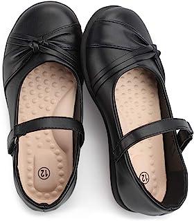 Sponsored Ad - Hawkwell Girl's Strap School Uniform Dress Shoe Mary Jane Flat (Toddler/Little Kid)