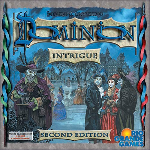 Dominion: Intrigue 2nd Edition Board Game