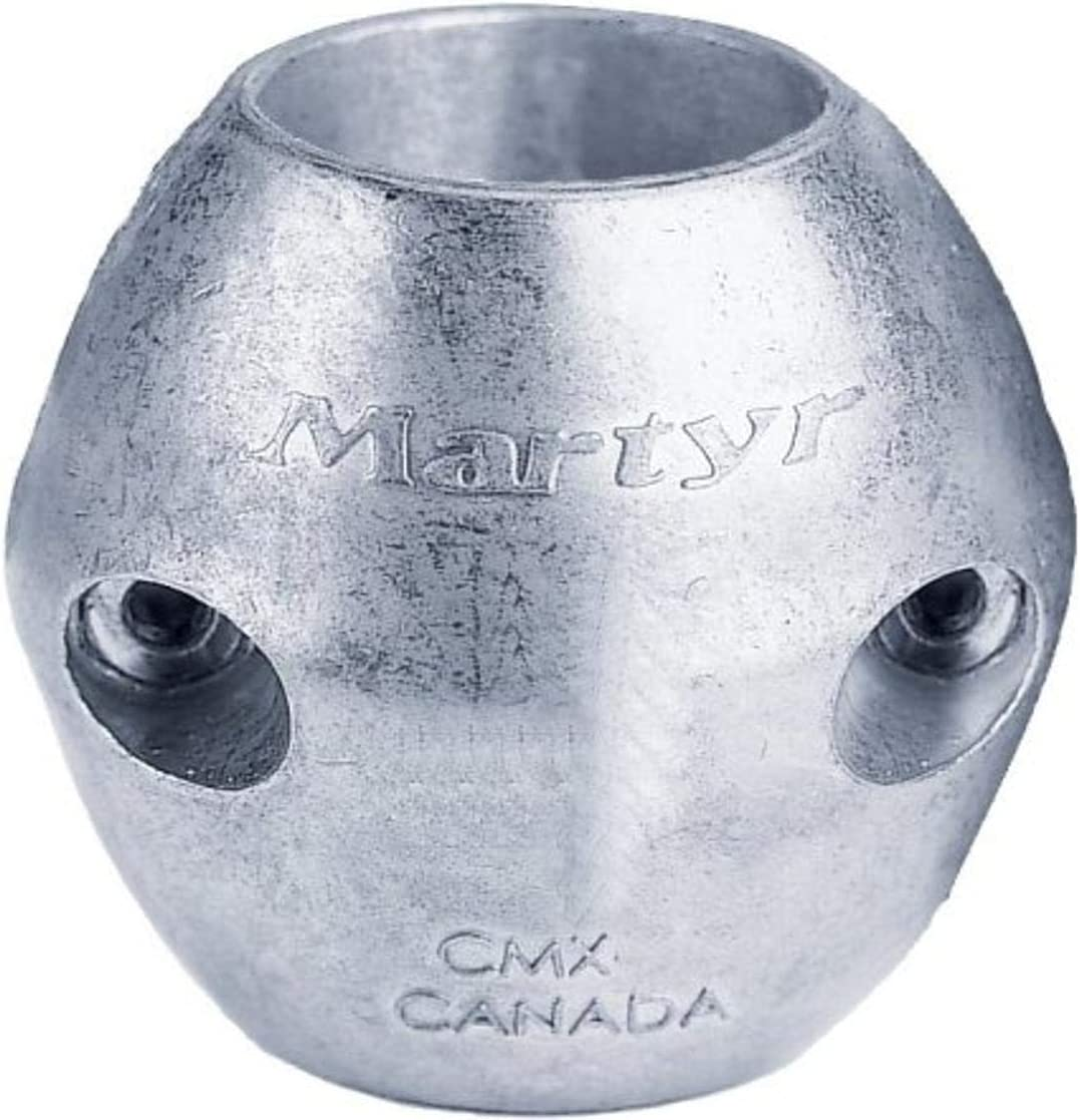 Martyr Anodes Streamlined Shaft Anodes with Stainless Steel Slotted Head