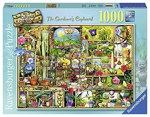 Ravensburger Puzzle, Puzzle 1000 Piezas, El Armario del Jardinero de Colin Thompson, Puzzles para Adultos, Rompecabezas