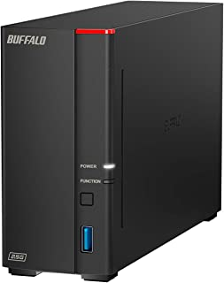 BUFFALO LinkStation 710 2TB 1-Bay Home Office Private Cloud Data Storage with Hard Drives Included