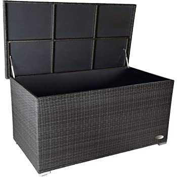Oskar XXL Kissenbox wasserabweisend Polyrattan 950L