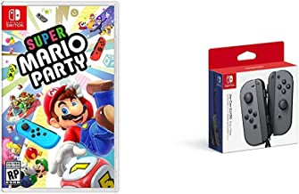 Super Mario Party Bundle with Nintendo Joy-Con (L/R) - Gray