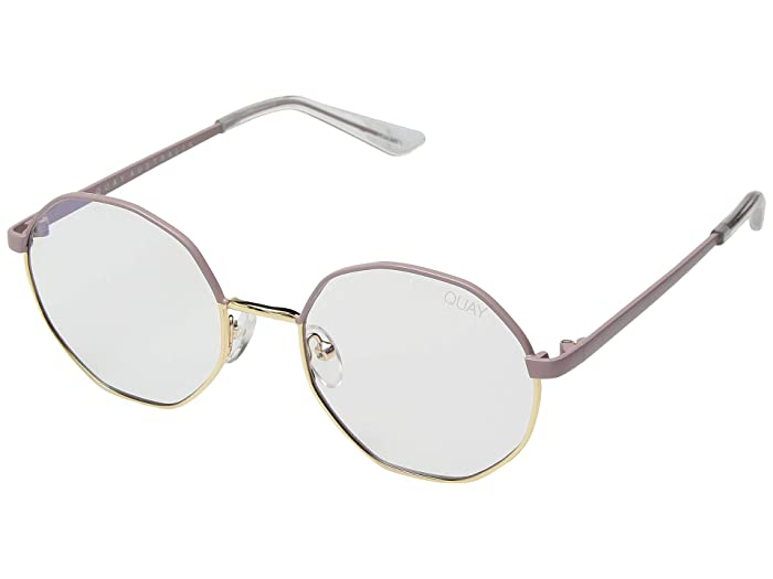 Eclectic (Pink Gold/Clear Blue Light) Fashion Sunglasses
